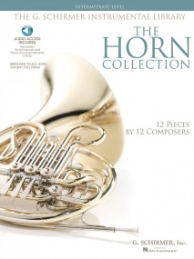 The Horn Collection - Intermediate published by Hal Leonard (Book/Online Audio)