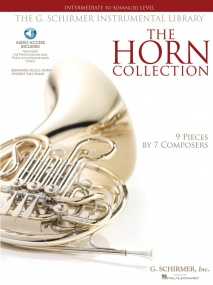 The Horn Collection - Intermediate/Advanced published by Hal Leonard (Book/Online Audio)