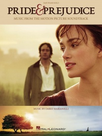 Pride and Prejudice - Music from the Motion Picture Soundtrack for Easy Piano published by Hal Leonard