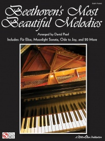 Beethoven's Most Beautiful Melodies for Easy Piano published by Hal Leonard