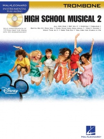 High School Musical 2 Book & CD for Trombone published by Hal Leonard