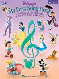 Disney My First Songbook Volume 3 for Easy Piano published by Hal Leonard