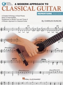 A Modern Approach To Classical Guitar Repertoire 1 Book & CD published by Hal Leonard