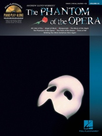Piano Play-Along Volume 83: Phantom Of The Opera published by Hal Leonard