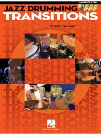 Jazz Drumming Transitions Book & CD published by Hal Leonard