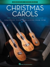 Christmas Carols: Ukulele Ensembles Intermediate published by Hal Leonard