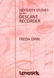 Dinn: Dexterity Studies for Recorder published by Lengnick