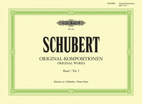 Schubert: Original Composition Volume 1 for Piano Duet published by Peters Edition