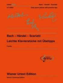Bach - Handel - Scarlatti  for Piano published by Wiener Urtext