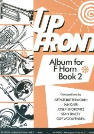 Up Front Book 2 for Horn in F published by Brasswind