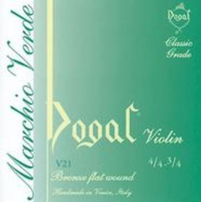 Dogal Green Label Cello D String - Size 3/4 & 4/4