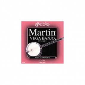 Martin Vega V700 Nickel Wound Banjo Strings 9-20 Light