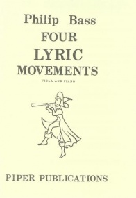 Bass: 4 Lyric Movements for Viola published by Piper