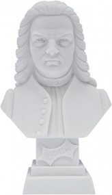 Alabaster Bust - Bach (11 cm high)