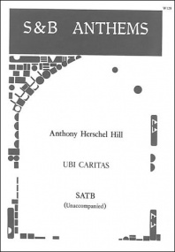 Hill: Ubi caritas SATB published by Stainer and Bell