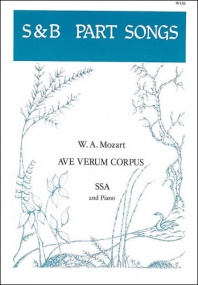 Mozart: Ave verum corpus SSA published by Stainer and Bell