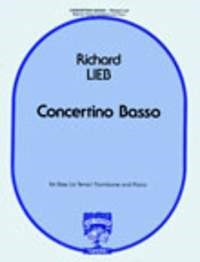Lieb: Concertino Basso for Bass (Tenor) Trombone published by Fischer