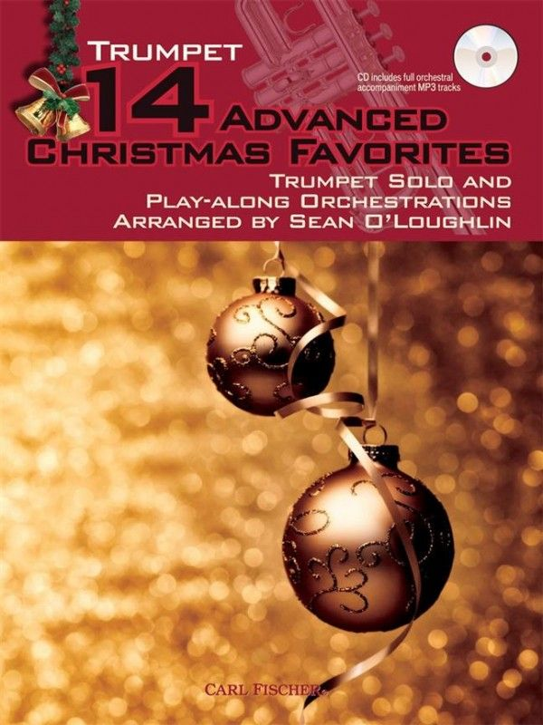 14 Advanced Christmas Favourites for Trumpet Book & CD published by Fischer