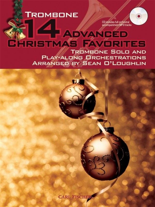 14 Advanced Christmas Favourites for Trombone Book & CD published by Fischer