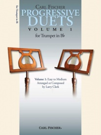 Progressive Duets Volume 1 for Trumpet published by Fischer
