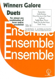 Winners Galore Duets Book 2 for Woodwind and/or Brass published by Brasswind