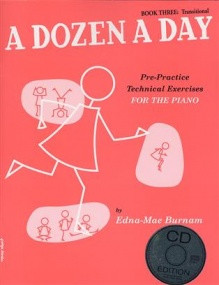 Dozen a Day Book 3 (Transitional) Book & CD for Piano published by Willis Music