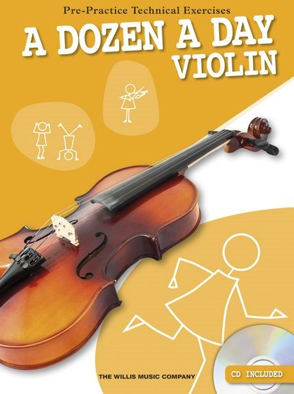 A Dozen A Day Book & CD for Violin published by Willis