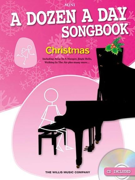 A Dozen A Day Songbook Mini : Christmas Book & CD for Piano published by Willis
