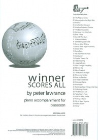 Winner Scores All Piano Accompaniment for Bassoon published by Brasswind