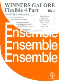 Winners Galore Flexible 4 Part Ensemble Book 4 for Woodwind and/or Brass published by Brasswind