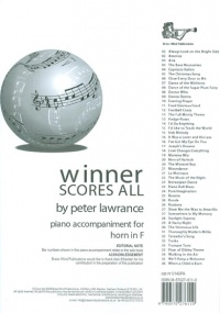Winner Scores All - Piano Accompaniment for Horn in F published by Brasswind