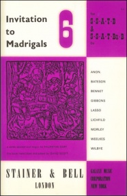 Invitation to Madrigals Book 6 (SSATB/SSATBaB) published by Stainer & Bell