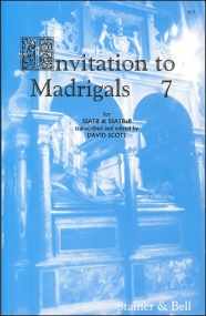 Invitation to Madrigals Book 7 (SSATB/SSATBaB) published by Stainer & Bell