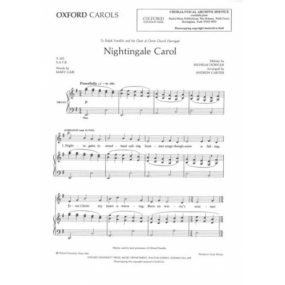 Dorfler: Nightingale Carol SATB published by Oxford Archive