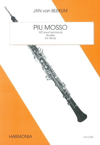 Beekum: Piu Mosso for Oboe published by Harmonia