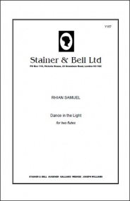 Samuel: Dance in the Light for Two Flute published by Stainer & Bell