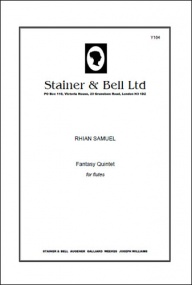 Samuel: Fantasy Quintet for Flutes published by Stainer & Bell