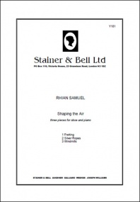 Samuel: Shaping the Air for Oboe published by Stainer & Bell