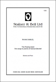 Samuel: The Flowing Sand for Baritone and Piano published by Stainer & Bell