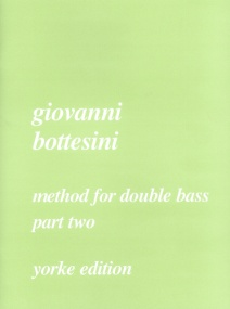 Bottesini: Method For Double Bass Volume 2 published by Yorke