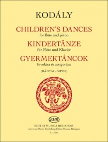 Kodaly: Children's Dances for Flute published by EMB