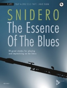Snidero: The Essence Of The Blues for Flute Book & CD published by Advance