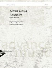 Ciesla: Bestiary for Clarinet published by Advance