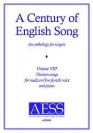A Century Of English Song - Volume 8 - Medium Low Female published by Goodmusic