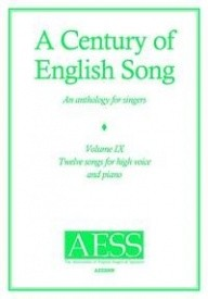 A Century Of English Song - Volume 9 - High published by Goodmusic