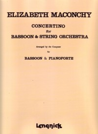 Concertino for Bassoon by Maconchy published by Lengnick
