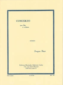 Ibert: Concerto for Flute published by Leduc