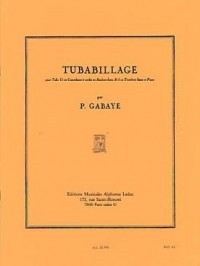 Gabaye: Tubabillage for Bass Trombone or Tuba published by Leduc