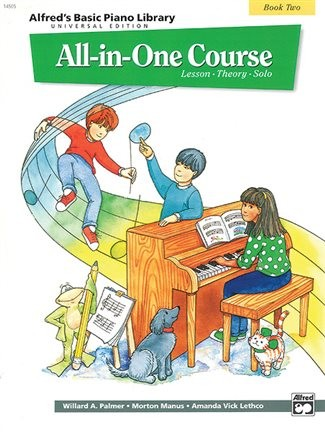 Alfred Basic Piano All in one Course Book 2