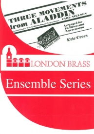 Three Pieces from Aladdin for 16 brass players published by Brasswind